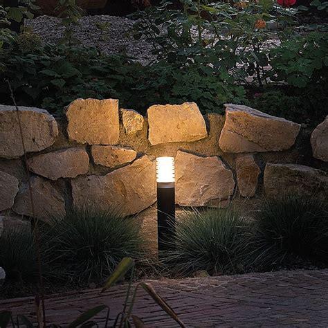 garden post lights led arco 60 black led garden post lights