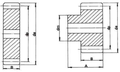 gear steel grades metric mod 2 steel spur gears