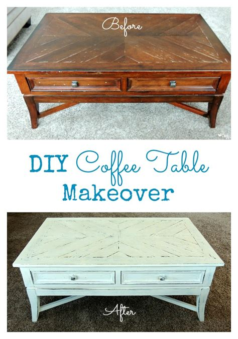 coffee table makeover ideas diy coffee table makeover cozy country living
