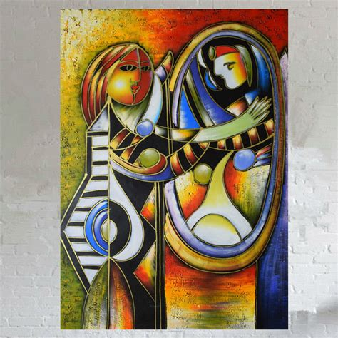 picasso paintings in mirror get cheap artist picasso aliexpress