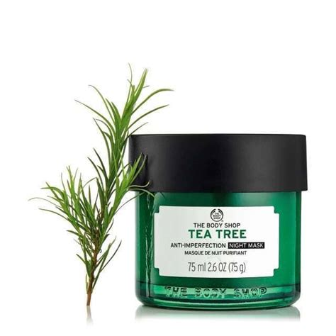 Masker Tea Tree Shop tea tree anti imperfection mask 75ml