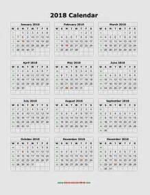 Calendar 2018 Uk Printable Calendar For 2018 Printable Creative Calendar Template