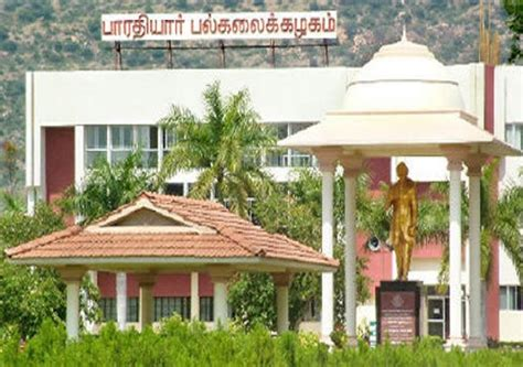 Bharathiar Coimbatore Mba Fees Structure by Fees Structure And Courses Of Bharathiar Bu