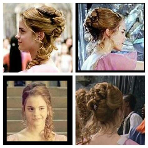 hermione yule ball hairstyle hermoine s yule ball hair beauty pinterest