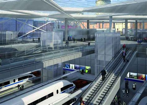 design competition urged for hs2 viaduct revealed grimshaw s new designs for hs2 ready euston
