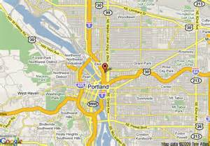portland oregon hotel map map of crowne plaza portland downtown convention center
