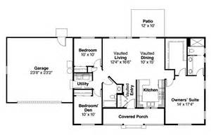 Ranch Home Floor Plans Ranch House Plans Mackay 30 459 Associated Designs