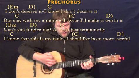 video tutorial gitar one last breath chord gitar one last time ariana grande terlengkap mp3 5