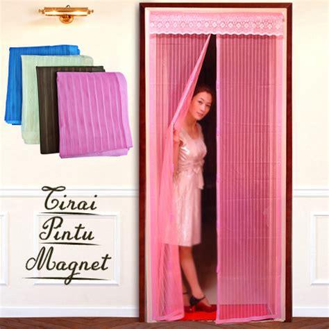 Grosir Tirai Magnet tirai anti nyamuk tiraimagnet pinkpolos jual aneka