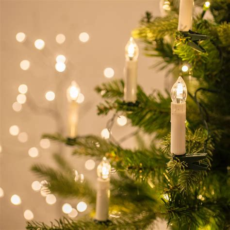 candle flame christmas lights 50 christmas tree candle lights by lights4fun
