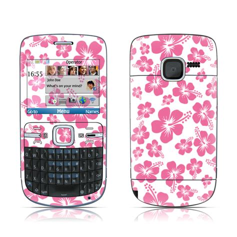 themes nokia c3 pink pink hibiscus nokia c3 00 skin covers nokia c3 00 for