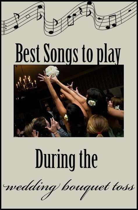 25  best ideas about Bouquet toss songs on Pinterest