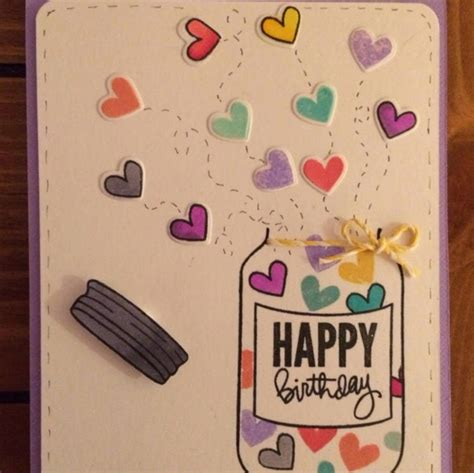Handmade Card Ideas For Birthday - 24 cool handmade birthday card ideas diy ideas