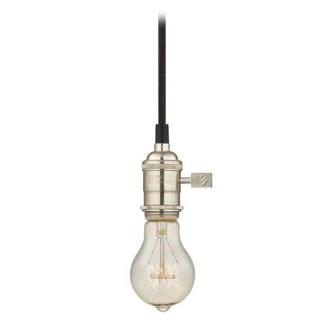 Pendant Light Socket Nostalgic Bare Bulb Socket Mini Pendant Light With 25 Watt Edison Bulb Ca1 09 25a19 Filament