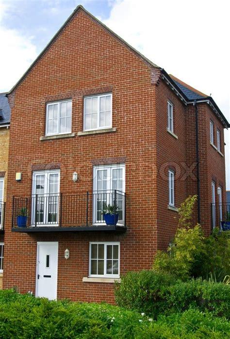 Haus Englisch by Typische Englisch Rote Backstein Haus Stockfoto Colourbox