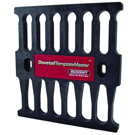 Dovetail Template Master porter cable 2 1 2 in x 6 in single hinge template 59370