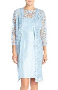 adrianna papell embroidered lace sheath dress amp jacket in