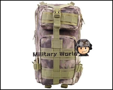 Tas Ransel Tactical Outdoor Backpack 45 Assault Bag Best Quality molle camouflage tactical 3 pocket hydration assault backpack shoulder bag outdoor hiking