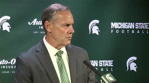 michigan state coach suspended michigan state coach dantonio speaks amid program