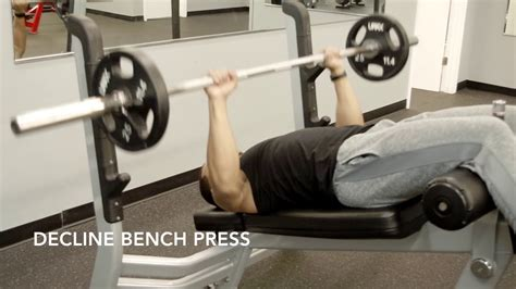 proper decline bench press form decline bench press youtube