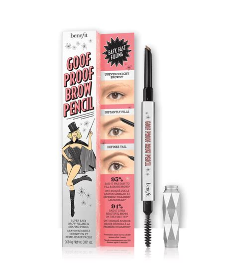 Benefit Gimme Brow 01 Sle Size goof proof eyebrow pencil benefit cosmetics