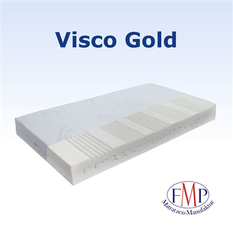 matratze visco orthop 228 dische 7 zonen viscomatratze visco gold premium
