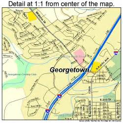 where is georgetown on map georgetown map 4829336