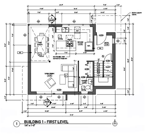 dwell floor plans gallery of the greenest home on the block caron