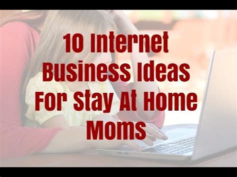 10 business ideas for stay at home frefall