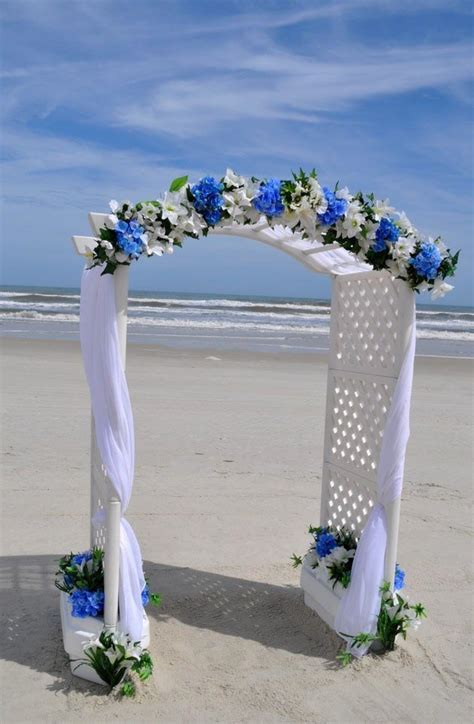wedding arches decorated   Basic Arch: White Wedding Arch