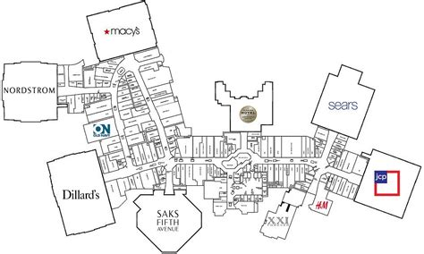 layout of florida mall orlando fl the mallmanac extant assets the florida mall orlando fl