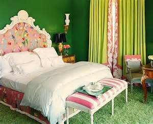 pink and green interiors panda s house