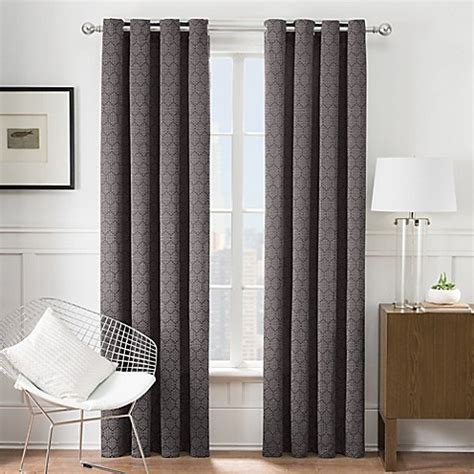 bed bath and beyond clearance curtains times square 174 grommet window curtain panel bed bath beyond