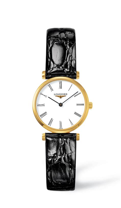 la grande classique de longines black leather