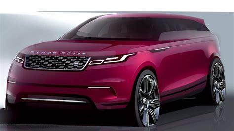range rover sport concept 2018 range rover velar concept design