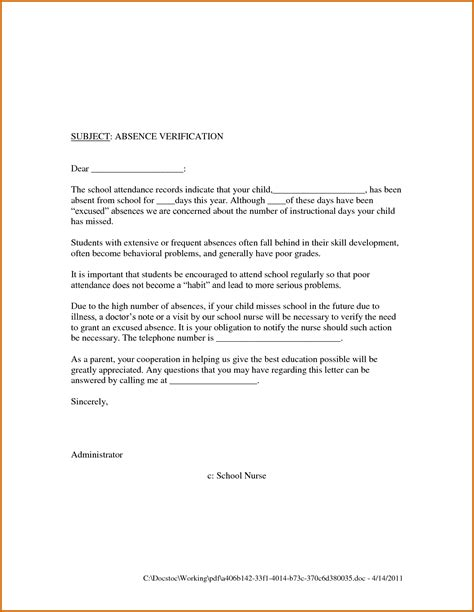 Release Letter From School 7 Sle Return To Work Letter From Doctor Lease Template