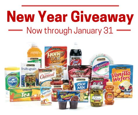 Product Sweepstakes - best choice new year s product sweepstakes freebie giant get free stuff online