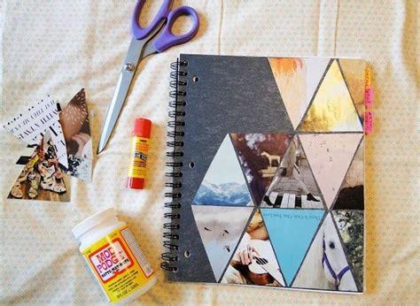 cool scrapbook idea diy journal diy notebook cover