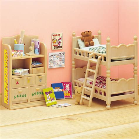 Sylvanian Families Bedroom Set sylvanian families childrens bedroom furniture set toys quot r quot us australia official site toys