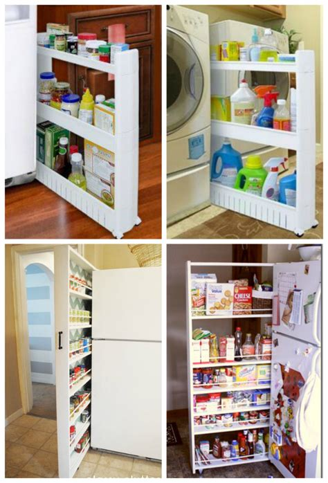pull out storage diy diy your own slide out storage unit pictures photos and