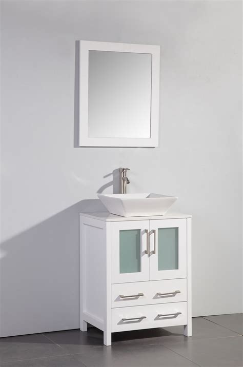 bathroom vanity contemporary bathroom vanity ideas vessel legion 24 inch modern vessel sink bathroom vanity white
