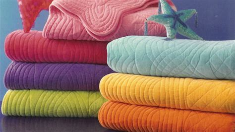 Cotton Velvet Quilt by Davenport Cotton Velvet Quilt Colors The Frog