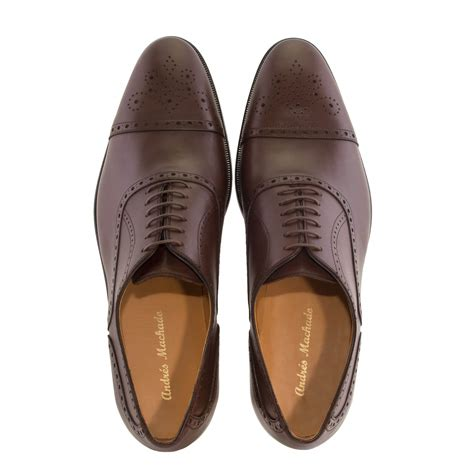 are oxford shoes in style oxford style shoes in brown leather alonai 179 90