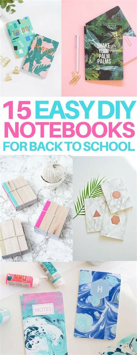 41 best images about diy on pinterest college dorm organization diy bedroom decor and light 15 diy notebook ideas for back to school and scrapbook