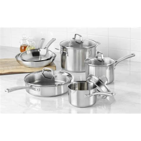 Oxone Classic Cookware Set calphalon classic stainless steel cookware giveaway steamy kitchen recipes