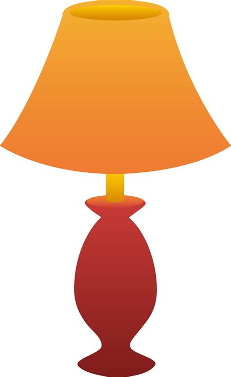 Table Lamp by Lamp Shade Clipart 25