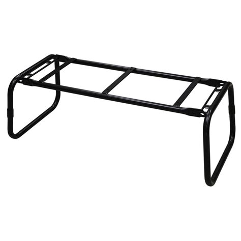 folding bench seat legs wise seating folding bench frame closed loop legs west