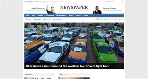newspaper theme squarespace huffington post wordpress theme download review 2018