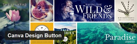 canva button wordpress plugins for adding beautiful images to your