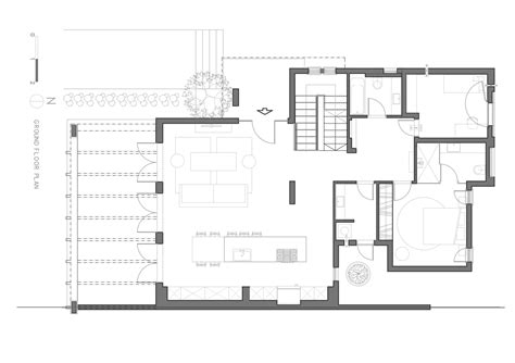 architecture floor plans gallery of a modern quot kibbutz quot house henkin shavit